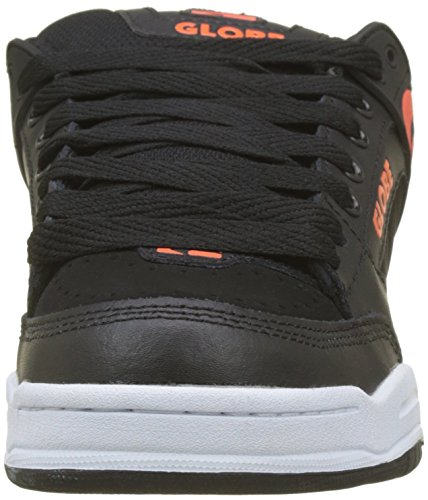 000 Hombre Black Zapatillas Tilt Spicy para Globe Skateboarding Multicolor de Orange XvwnO