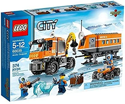 LEGO CITY Arctic Outpost with Lab, Truck, ATV and 3 Minifigures   60035