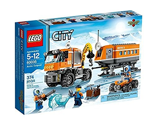 LEGO CITY Arctic Outpost with Lab, Truck, ATV and 3 Minifigures | 60035
