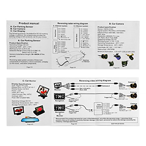 surprising parking aid wiring diagram gallery