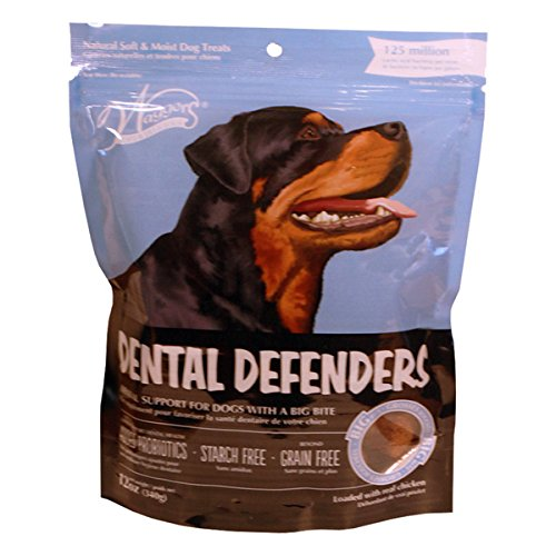 Waggers 552016 Dental Defenders Dog Treats Dry Pet Food, One Size
