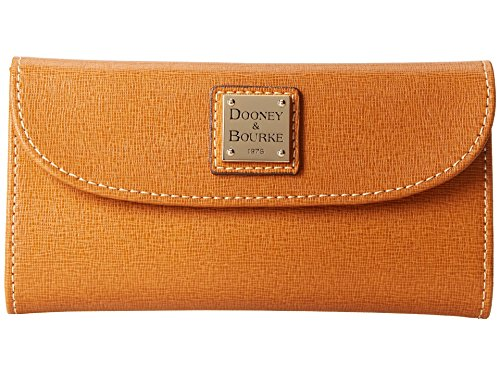 NEW AUTHENTIC DOONEY & BOURKE CARD CASE LEATHER WALLET - Card Dooney Leather Wallet & Credit Bourke