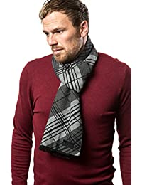 Marino's Winter Cashmere Feel Men Scarf,100% Cotton Fashion Scarves, In Elegant Gift Box