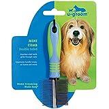u groom Mini Combs — Ergonomic Combs for Grooming Dogs - Double Sided, 7½''