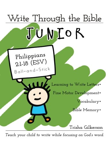 Write Through the Bible, Junior: Philippians 2:1-18 ESV, Ball-and-Stick