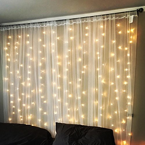 LE LED Curtain Lights,19.7x9.8ft, 594 LEDs, 8 Modes,