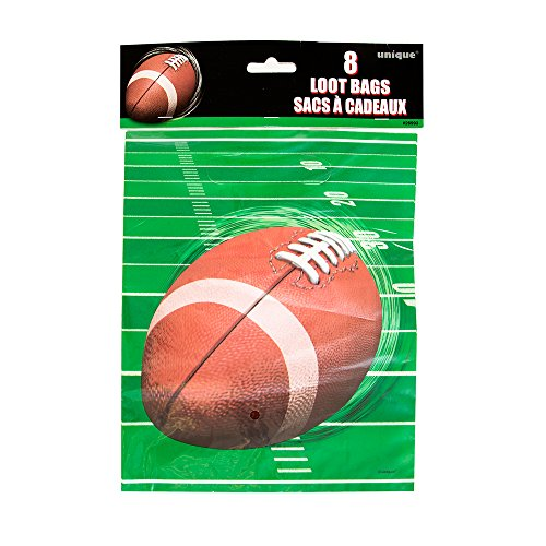 Football Party Goodie Bags 8ct