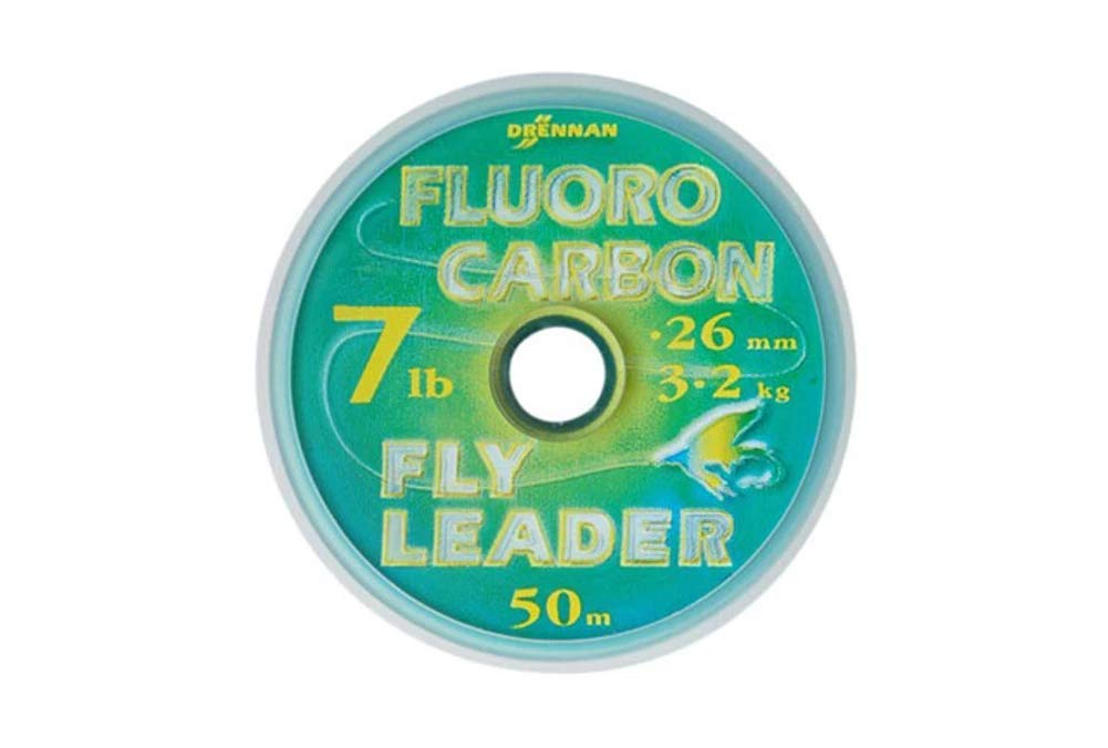 DRENNAN FLUOROCARBON FLY LEADER 50M