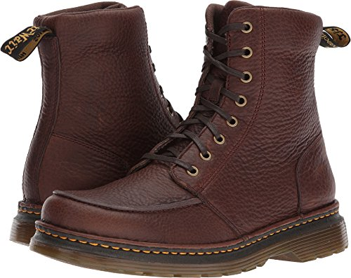 Dr. Martens Lombardo Dark Brown Fashion Boot, 9 Medium UK (10 - Boots Lucchese Work