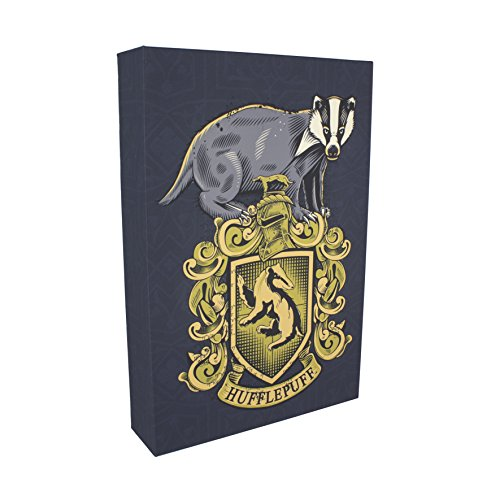 Hufflepuff 3D Luminart- Wall Art-Harry Potter Officially Licensed Product