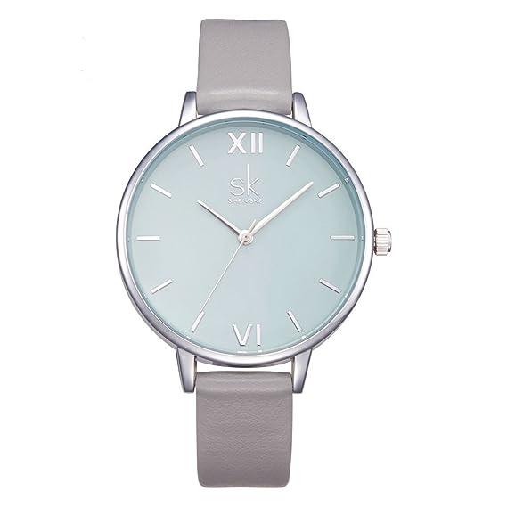 Shengke K0039L - Reloj de pulsera para mujer, diseño creativo
