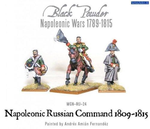 Black Powder Napoleonic Russian Command (1809-1815) Blister - Metal