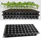 Bazaar 21 32 50 Holes Vegetable Flower Seeds Growing Tray Garden Plant Nursery Seedling Plate
