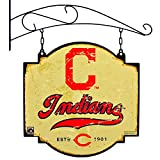 MLB Cleveland Indians Tavern Sign, One Size, Red