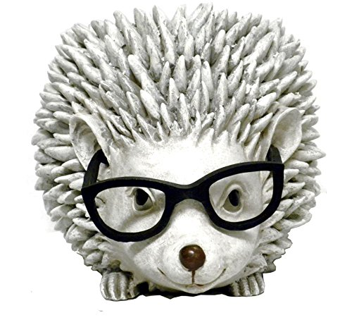Roman Woodland Critters with Eye Glasses Novelty Planters (Hedgehog) (Dad Planter)