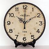 Europa Estilo Home Decor m s bastante reloj de mesa impermeable boca Moda rec mara mesa Reloj de pared