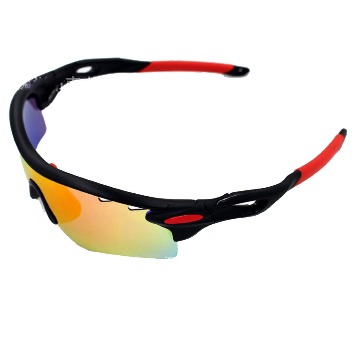 TZQ Riding Glasses Wind Mirrors Sports De Plein Air Lunettes De Soleil Polarisantes Lunettes De Ski Anti-buée,E