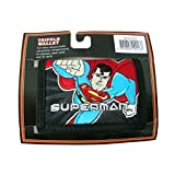 superman DC Heroes Trifold Wallet Wallet (Black)