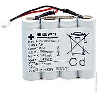 Saft - Batterie eclairage secours 4 VST AA COTE/COTE 4.8V 800mAh