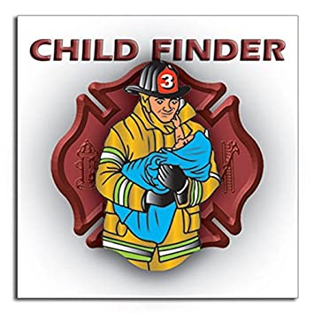 Amazoncom Pack Child Finder Vinyl Decals For Windows Alert - Window alert decals amazon