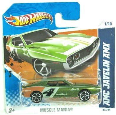 Light Green Pearl Metallic 2009 NEW MODELS Hot Wheels AMC JAVELIN AMX #016