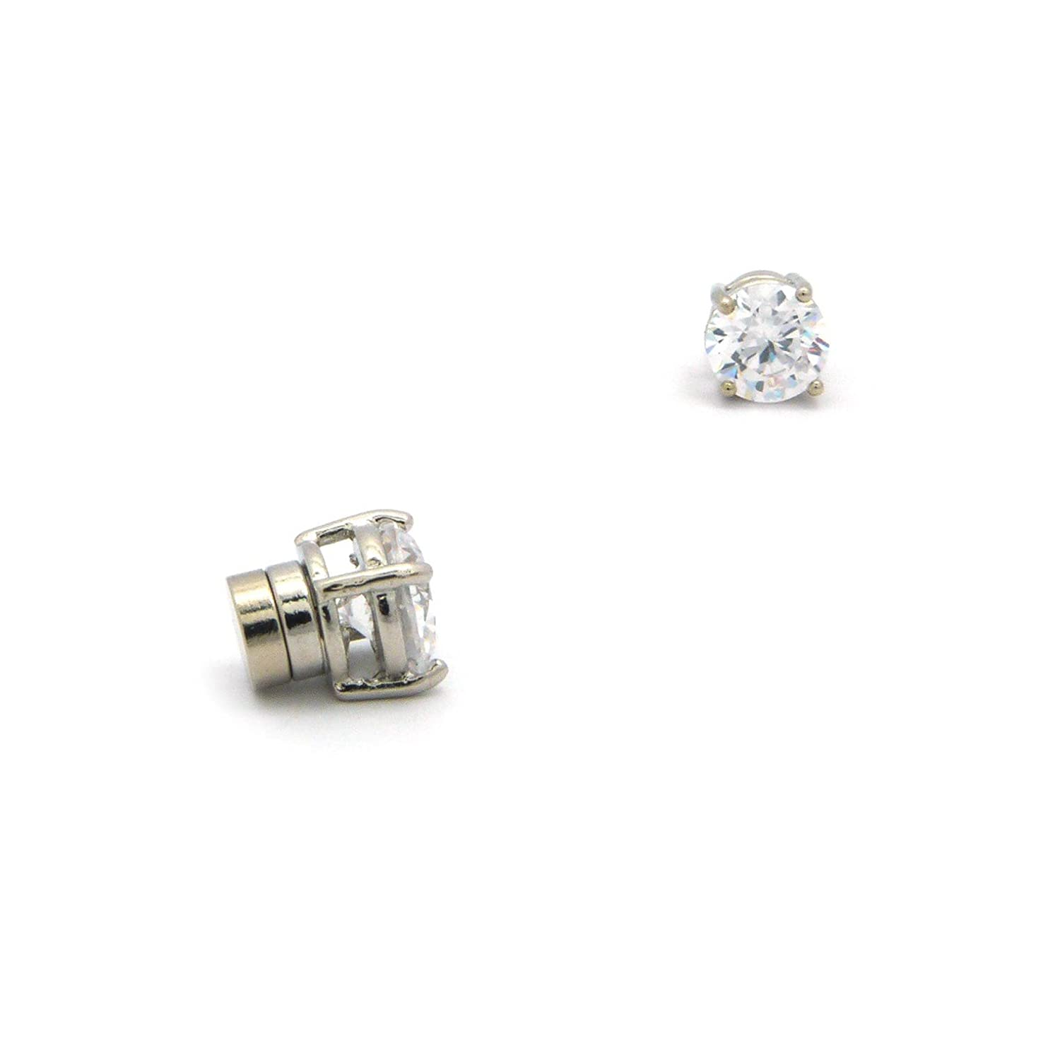 earrings cubic pairs ben zirconia steel stud usa stainless set junot product