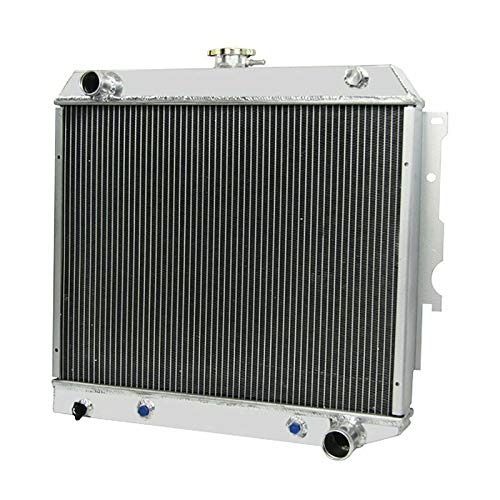 CoolingCare 3 Row Core Aluminum Radiator for 1970-74 Dodge Challenger /1968-73 Plymouth Satellite 5.2L 5.6L 5.9L V8 Model