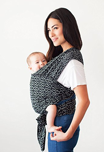Petunia Pickle Bottom for Moby Baby Wearing Wrap for Parents On The Go - Baby Wrap Carrier for Newborns, Infants, and Toddlers-Baby Carrying Wrap for Babywearing, Breastfeeding, Keeping Baby Close