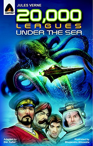 20,000 Leagues Under the Sea: The Graphic Novel (Campfire Graphic Novels) - Sea Graphic