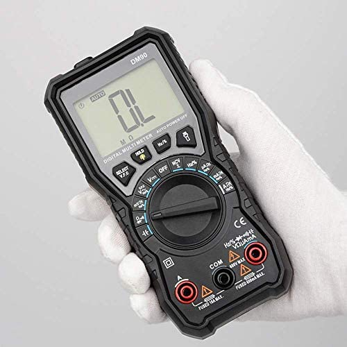 BXU-BG DM90 Mini Multimeter Digital Multimeter Auto Range Tester Multimeter Better Than Pm18c Multimeter Multitester