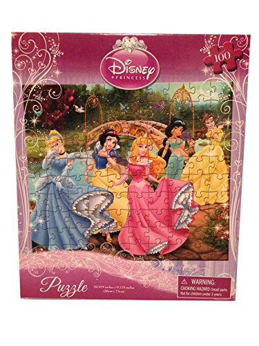 Disney Princess Jigsaw - Disney Princess(5) Puzzle - 100 Pieces - 10