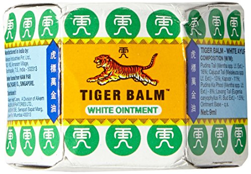 - Tiger Balm White Ointment 21ml - Pack of 2