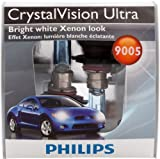 Philips 9005 CrystalVision ultra Upgrade Headlight Bulb (Pack of 2)