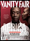 Vanity Fair July 2007 Africa Issue, Cheadle/Iman Cover