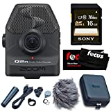 Zoom Q2n Handy Video Recorder with Q2N Accessory Pack & 16GB SD Card