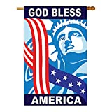 Cheap God Bless America Flag Indoor/Outdoor 28″ x 44″