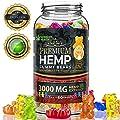 Hemp Gummies Premium 3000 Milligram High Potency - 50 Per Fruity Gummy Bear with Organic Hemp Oil | Rich in Omega 3-6-9