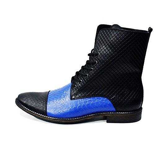 Modello Cinisello Balsamo - Handmade Colorful italiennes en cuir Shoes Chaussures Casual Formal Unique Vintage premium Bottes lacŽes Hommes Hauts