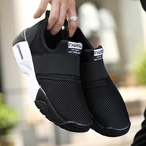Wealsex Athletic Fitness Nero Sport Ginnastica Con Scarpe Multi Uomo Palestra Jogging Cuscino Air Traspiranti Running Donna Per Sneakers Da wwBWTAqrf