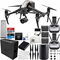 DJI Inspire 2 Premium Combo with Zenmuse X5S and CinemaDNG and Apple ProRes Licenses Cinematographer 240G Essential Bundle