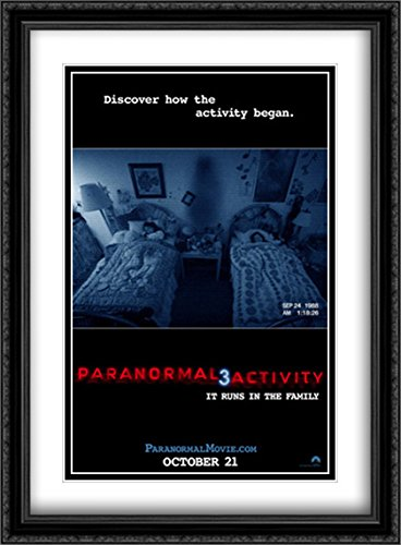 Paranormal Activity 3 28x38 Double Matted Large Large Black Ornate Framed Movie Poster Art Print by ArtDirect