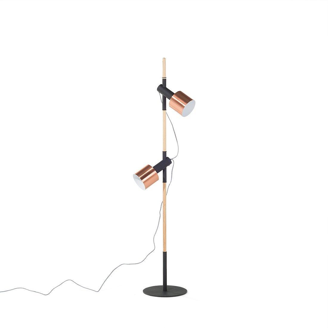 Beliani Stehlampe Schwarz 148 Cm Owens Beliani Amazon De Kuche