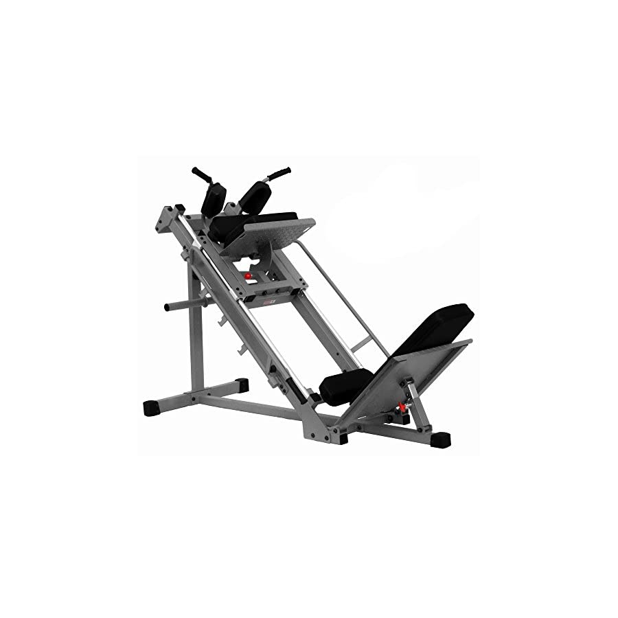 "XMark Seated Leg Press and Hack Squat With 1000 lb. Wgt Capacity Built Tough 11 gauge 2"" x 3"" and 2"" x 2"" steel mainframe"