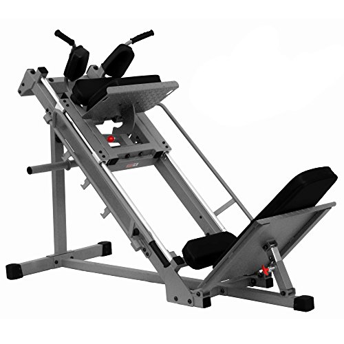 "XMark Seated Leg Press and Hack Squat With 1000 lb. Wgt Capacity - Built Tough 11 gauge 2'' x 3'' and 2"" x 2"" steel mainframe by XMark Fitness"