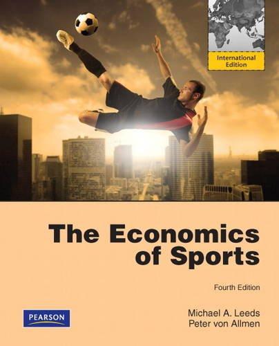 The Economics of Sports: International Edition