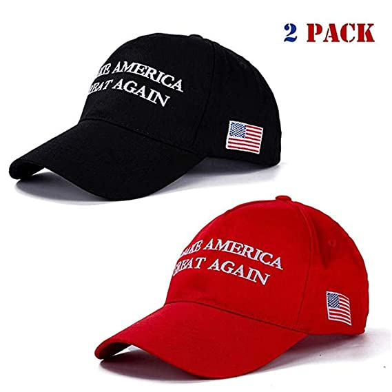 AMERICA IS GREAT AGAIN Hat EMBROIDERED Trump Inspired MAKE AMERICA GREAT AGAIN