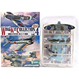 [2A] Efutoizu F-TOYS 1/144 wing kit collection Vol.4 Spitfire Mk.VB first Polish Fighter Wing commander machine separately