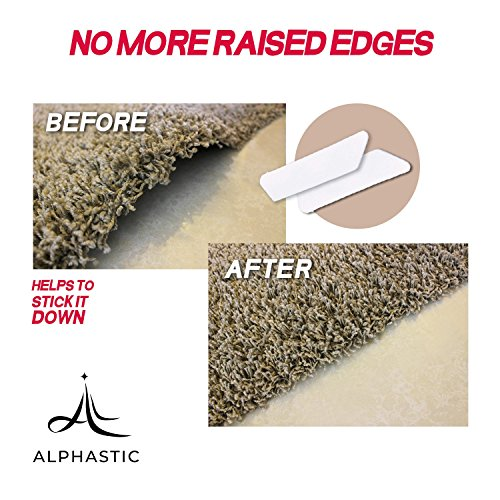 Premium Rug Gripper - Reusable Carpet Grippers, Suitable For Hardwood, Tile Floors. Alternative For Non Slip Pads, Sticky Tape. by Alphastic (Image #1)