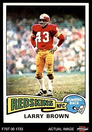 1975 Topps   200 Larry Brown Washington Redskins (Football Card) Dean s  Cards 8 - 6926cc8e8