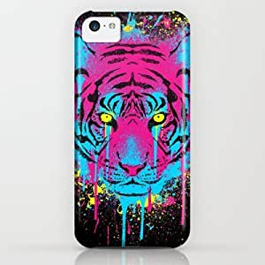 Cmykitty iPhone & iphone 5c Case by R-evolution GFX